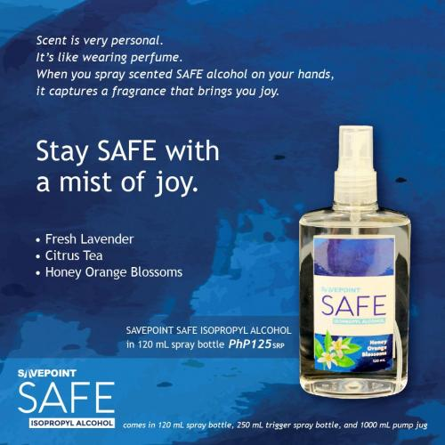 SAFE 120mL Honey Orange Blossoms